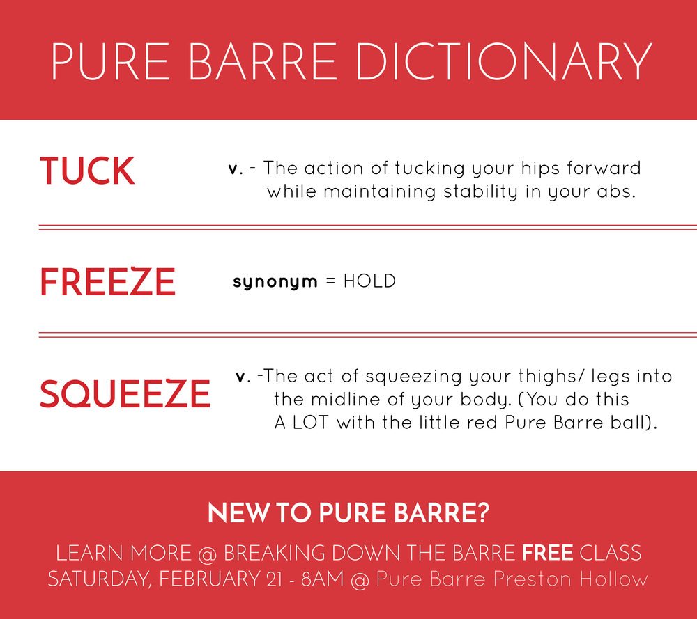 PureBarre_Dictionary_BreakingDownTheBarre