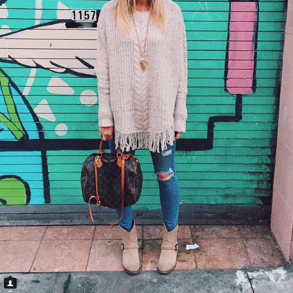 SWEATER  |   JEANS   |   BOOTS   (SIMILAR)