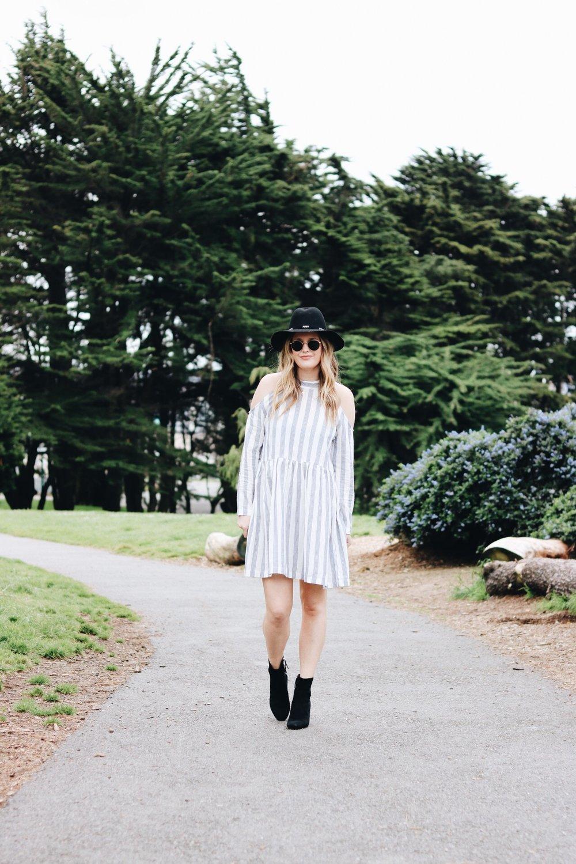 stripe-cold-shoulder-dress.JPG