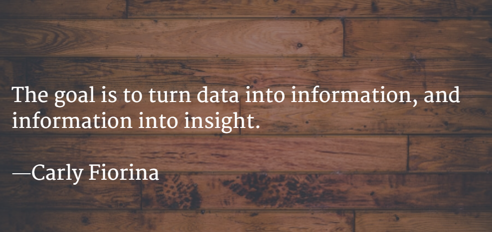 TurningDataintoInsight