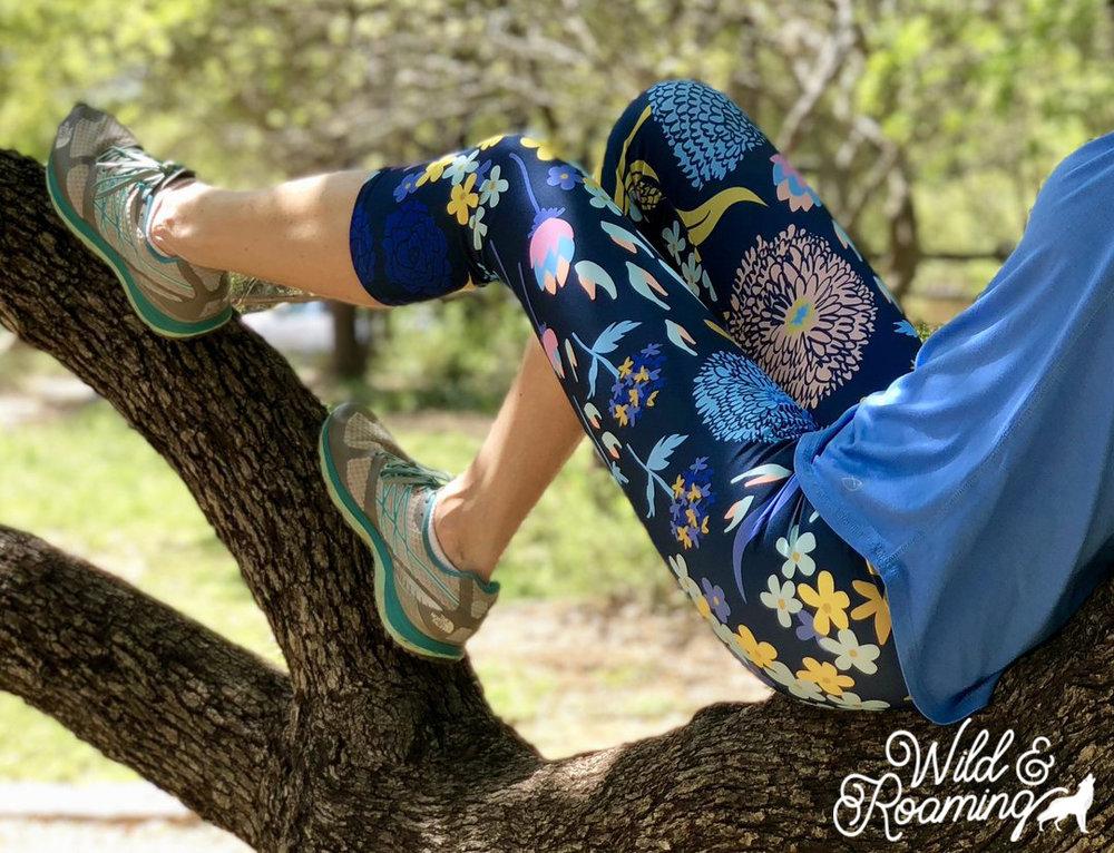 Nature's Sketchbook Capri Leggings