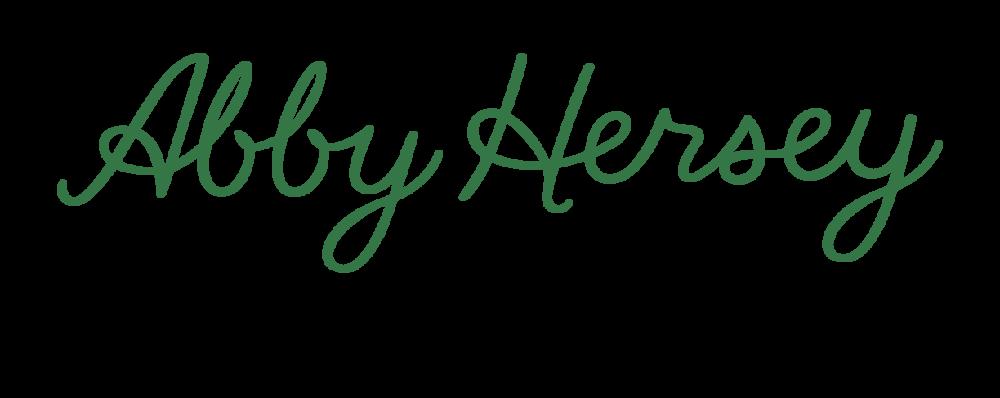 Journal — Abby Hersey