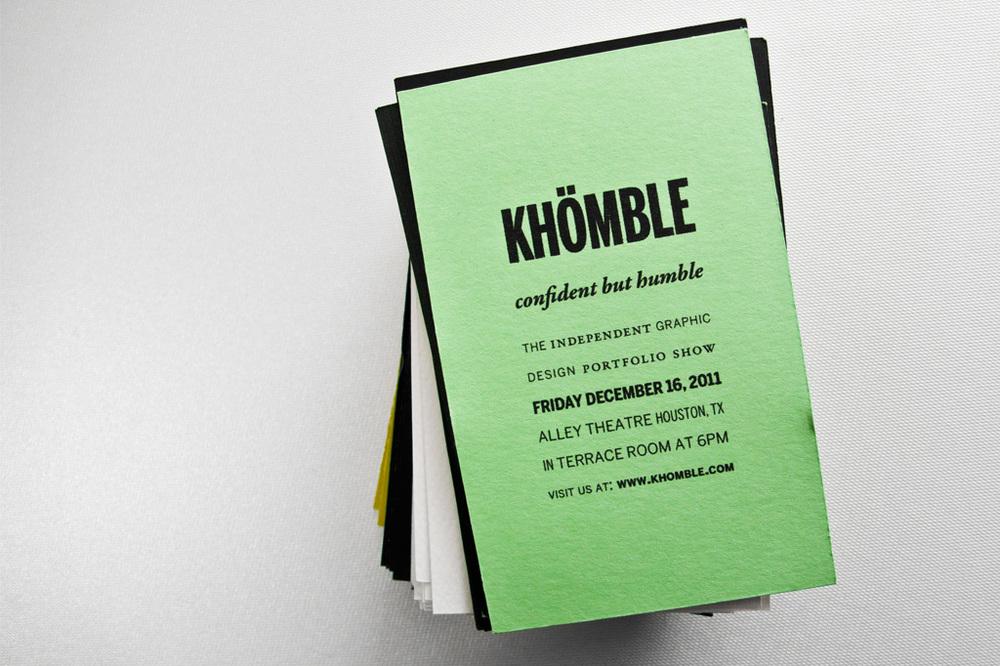 Branding: Khomble