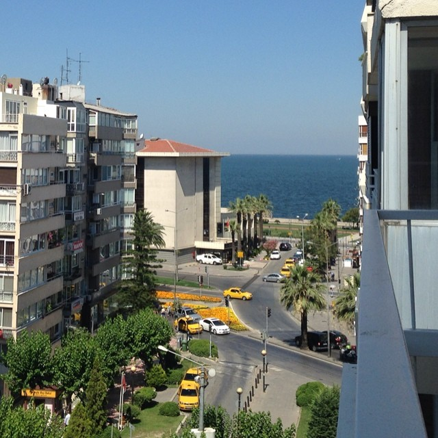 #Beautiful place to be, couldn't ask for a better #morning view. Merhaba #Izmir! Back after 5 years  (at Alsancak)