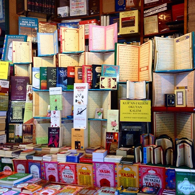 A book bazaar accidentally found while roaming #istanbul #turkey #tbt #comeseeturkey