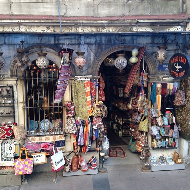Found the magic lamp store while roaming #istanbul #tbt #turkey #littleshop #comeseeturkey