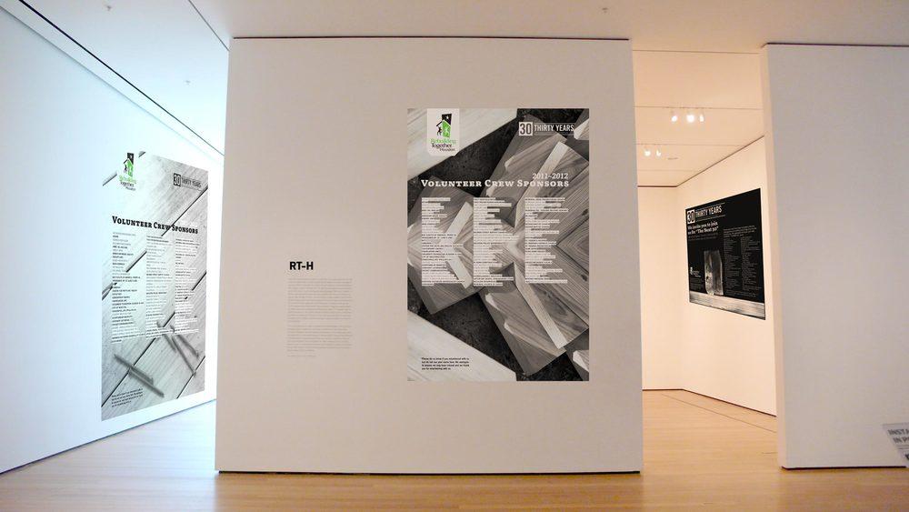 REBUILDING TOGETHER-HOUSTON - print campaign design