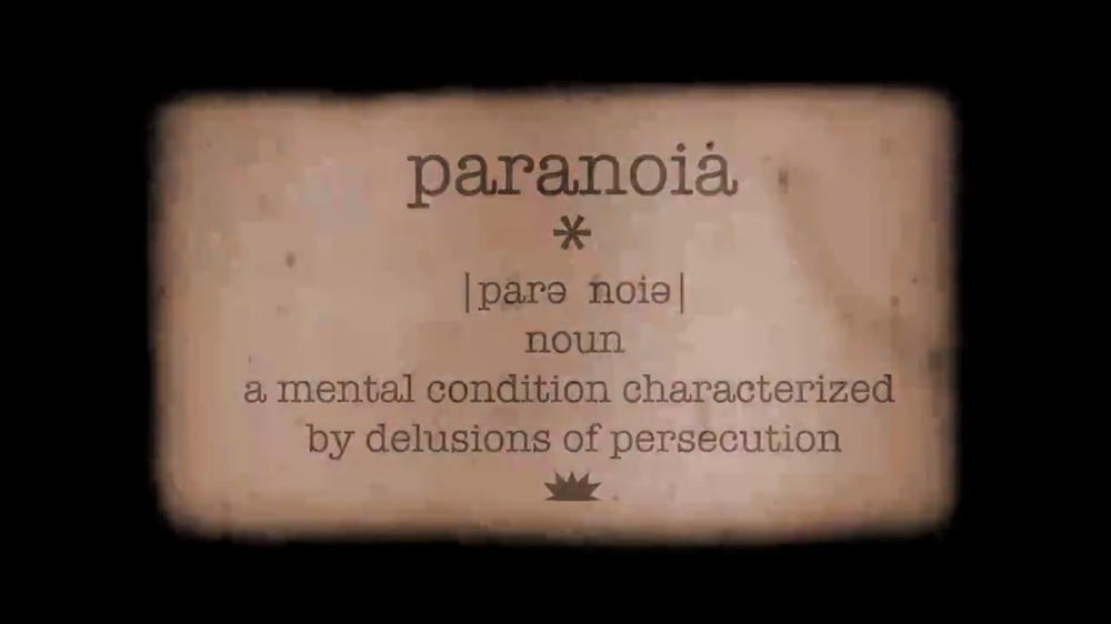 ANIMATION & MOTION GRAPHICS:  PARANOID COWBOY