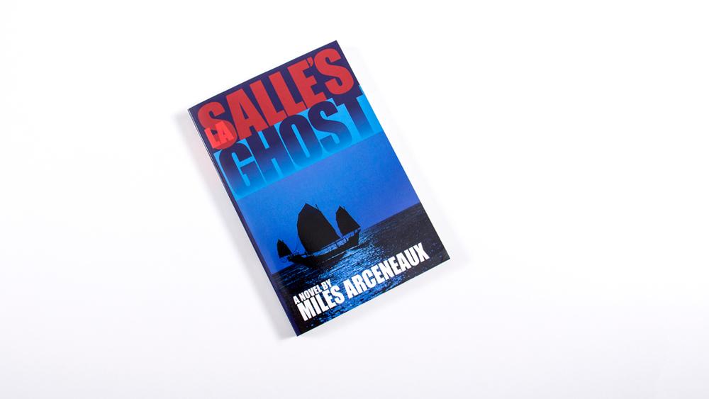 BOOK   & WEBSITE DESIGN/CODING: LaSALLE'S GHOST