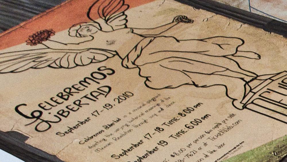 CELEBREMOS LIBERTAD - award winning poster design