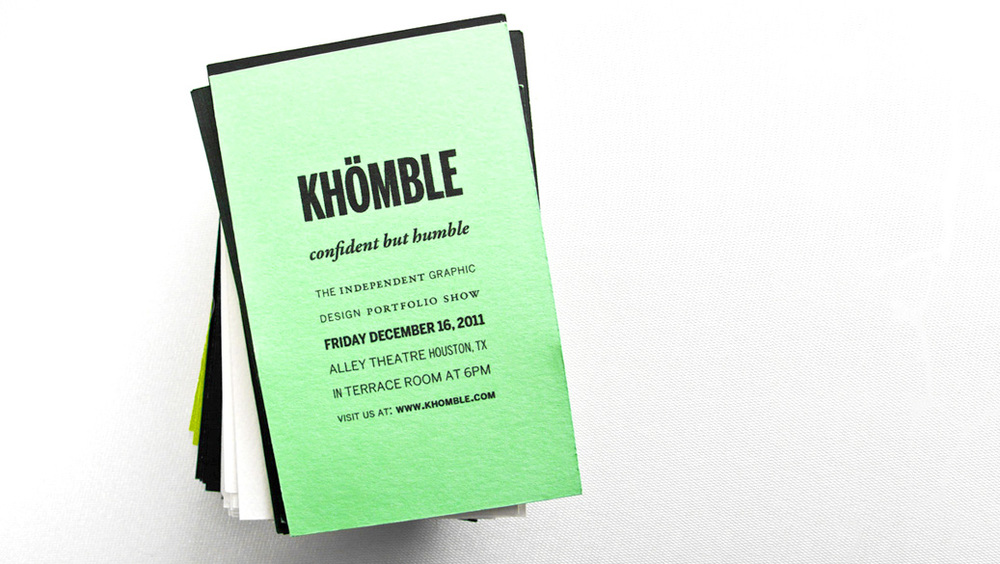 KHOMBLE - branding design