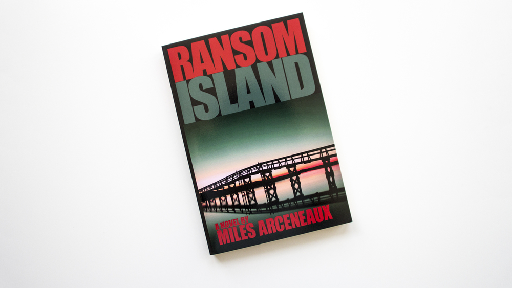 RANSOM ISLAND - book & website design & coding