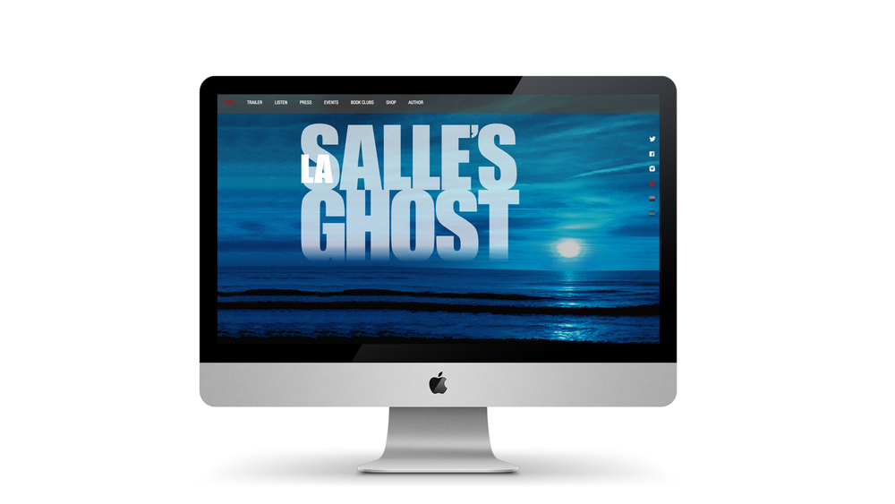 WEBSITE DESIGN & CODING:  LaSALLE'S GHOST