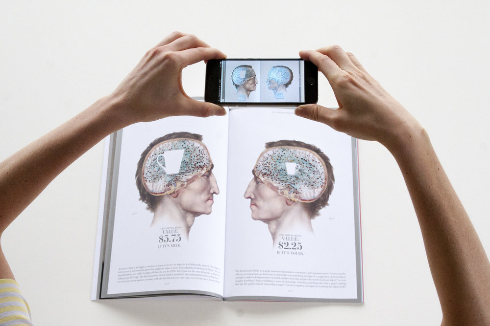 AUGMENTED REALITY / BOOK DESIGN:  SAPPI