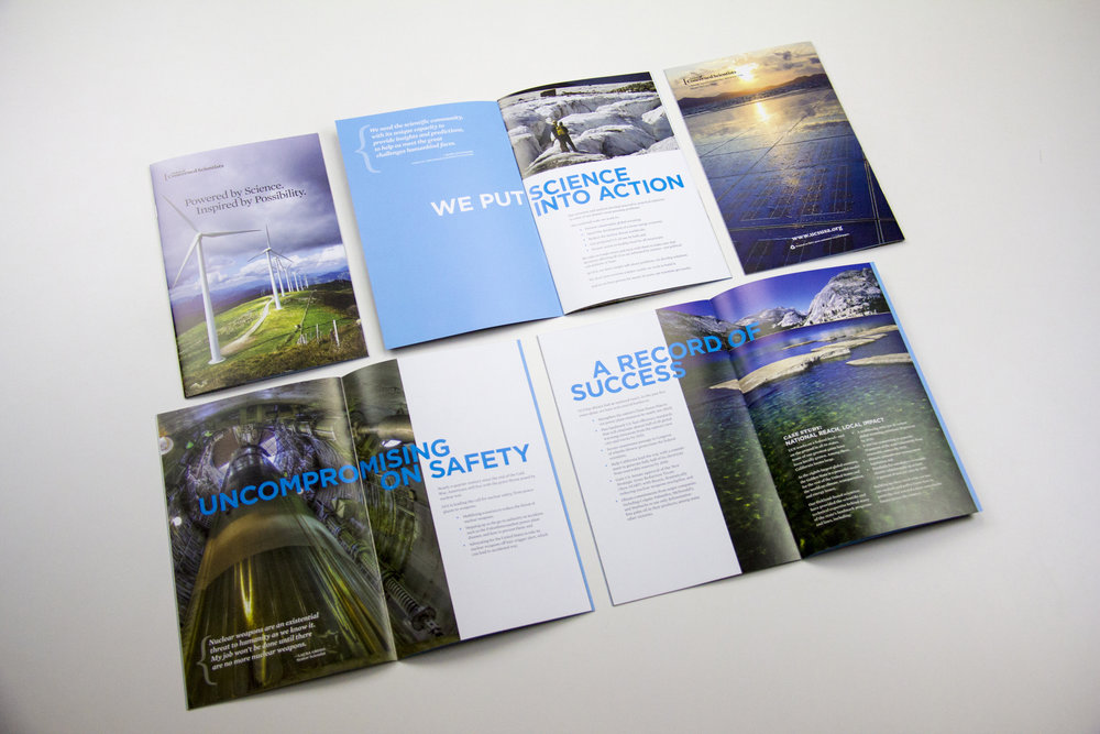 PROMOTIONAL & BOOK:  UCS DONOR BROCHURE