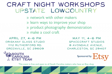 Craft Night Workshops Flyer
