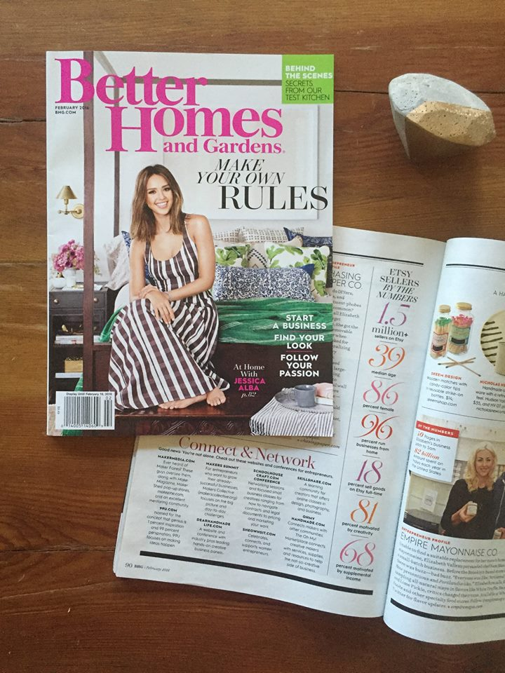 better homes and gardens february 2016