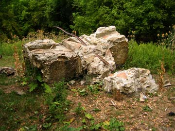 The current remains of Kay's Cross