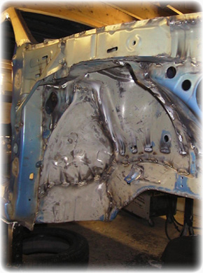 Body Seam Welds