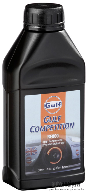 Gulf Competition RF 800 Brake Fluid