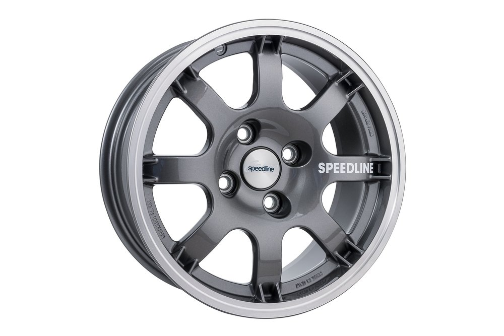 Speedline Retro SL434 Gun Metal