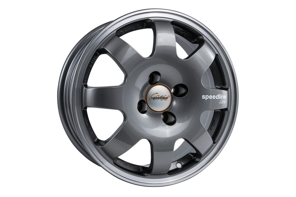 Speedline Retro SL675 Gun Metal