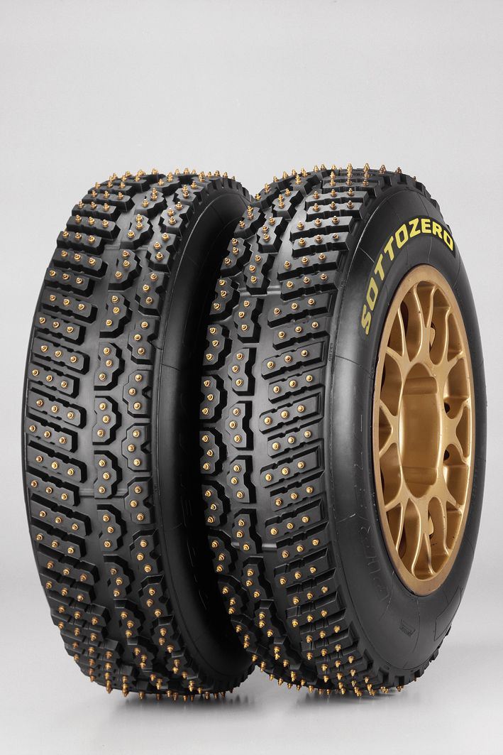 Snow/Ice Rally Tires