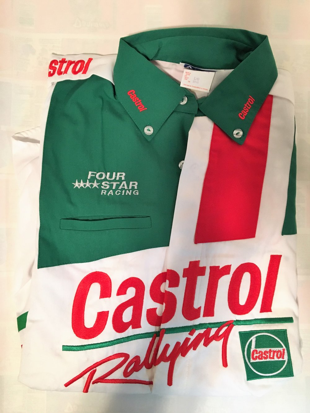 *RARE*Castrol Rallying Crew Shirt $50