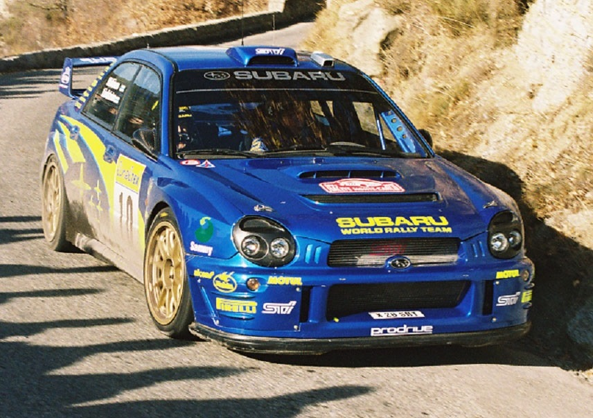 Tommi Mäkinen 2002 Car
