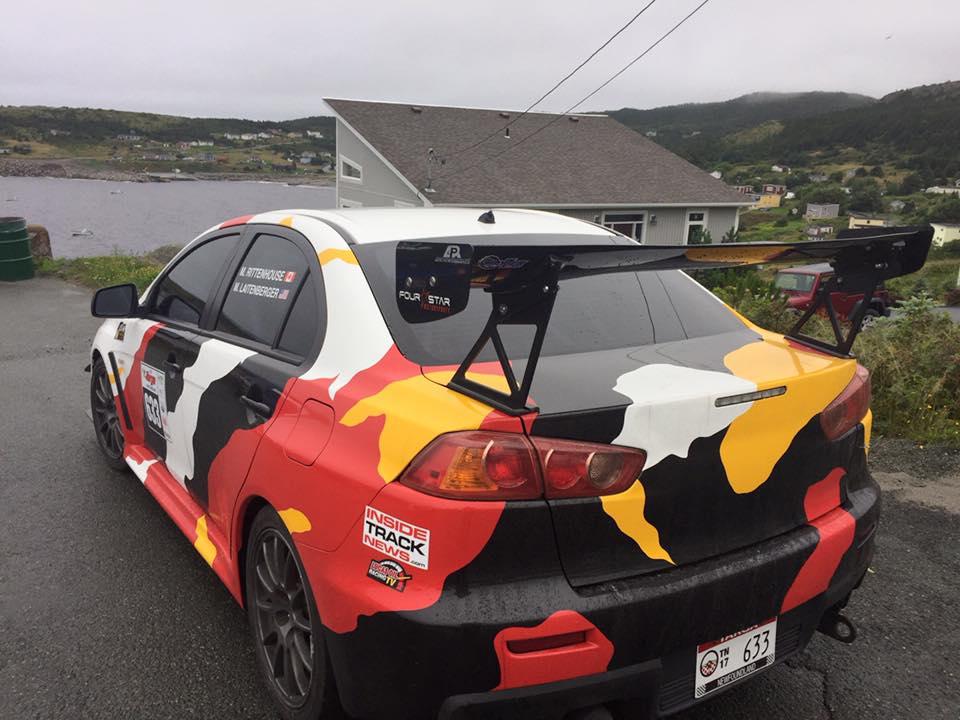 Mark Targa Newfoundland