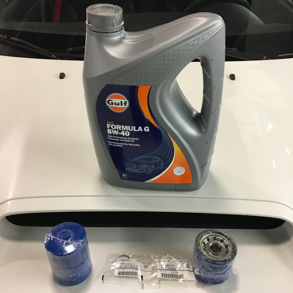 DIY Oil Change Package