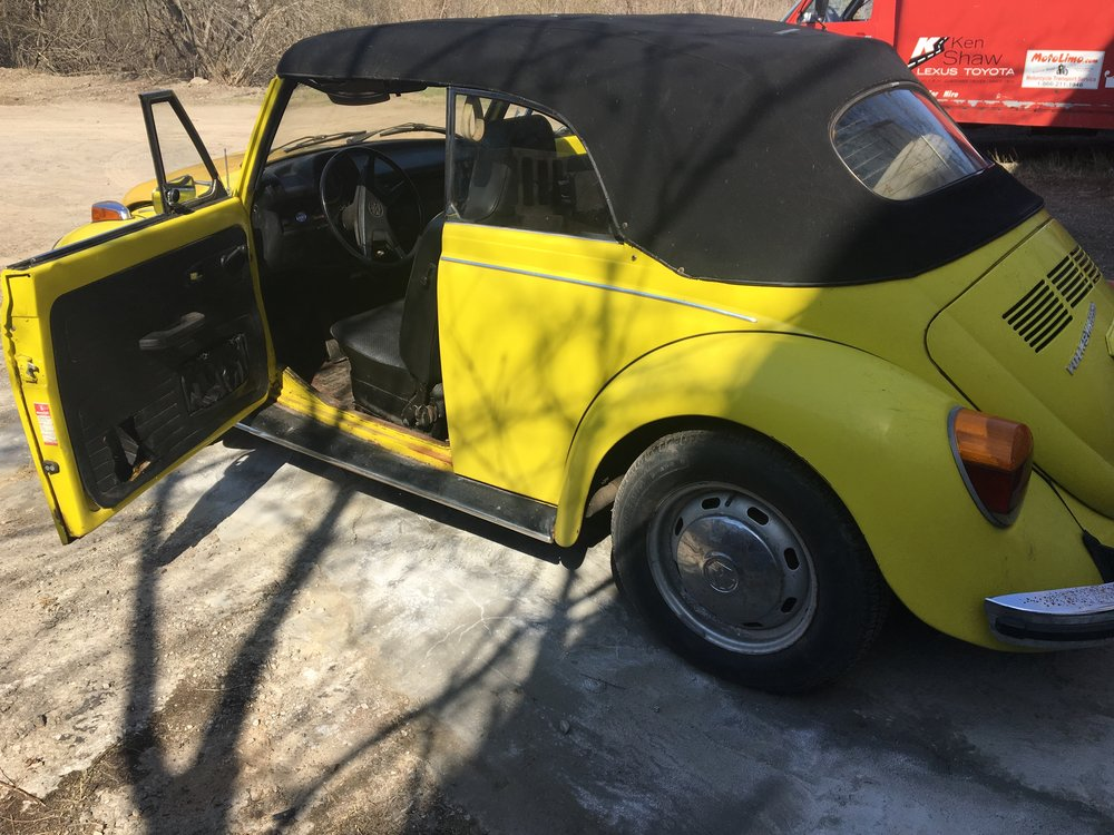 1973 Super Beetle Convertible