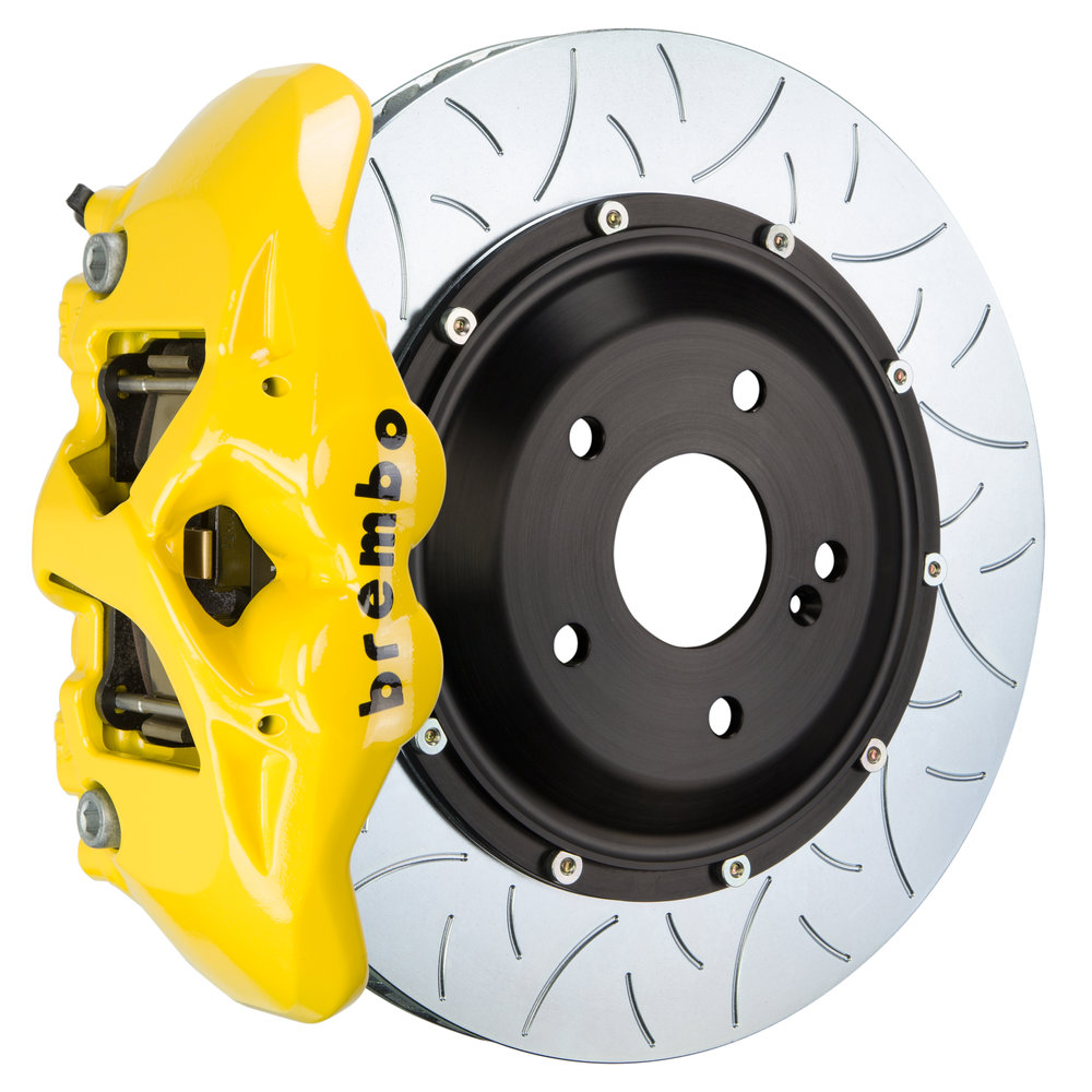 Yellow Caliper/Type 3 Disc