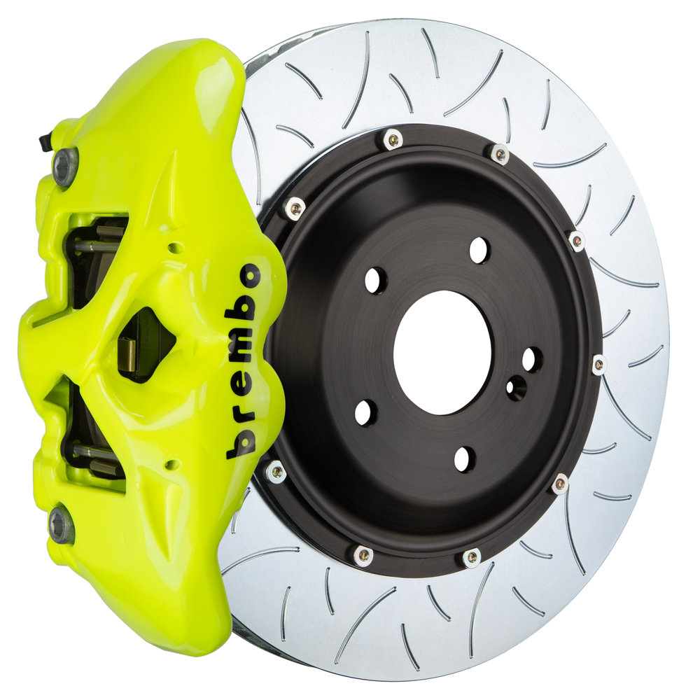 Neon Yellow Caliper/Type 3 Disc