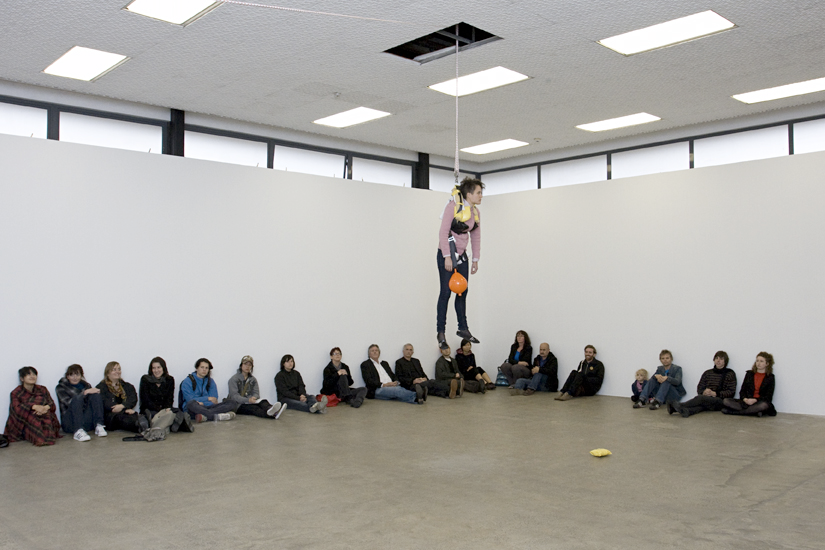 Alicia Frankovich,  A Plane for Behavers  - Performance 1, Artspace, Auckland 2009
