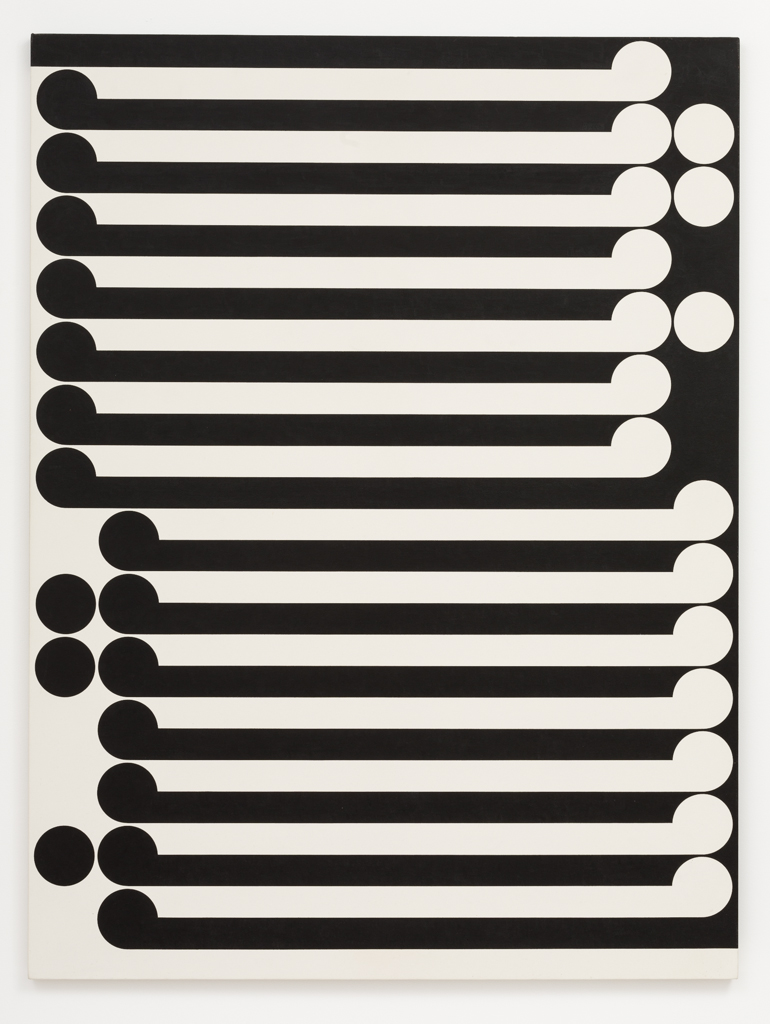 Gordon Walters,  Untitled,  1978, P.V.A. and acrylic on canvas, 1500 x 1200 mm, courtesy of the Walters Estate