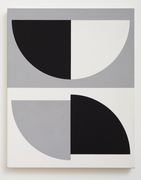 Gordon Walters,  Untitled , acrylic on canvas, 505 x 405mm, courtesy of the Walters Estate