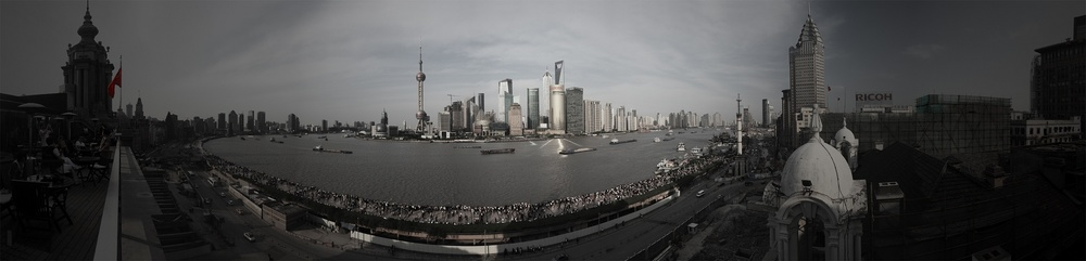 from the Shanghai Bund series