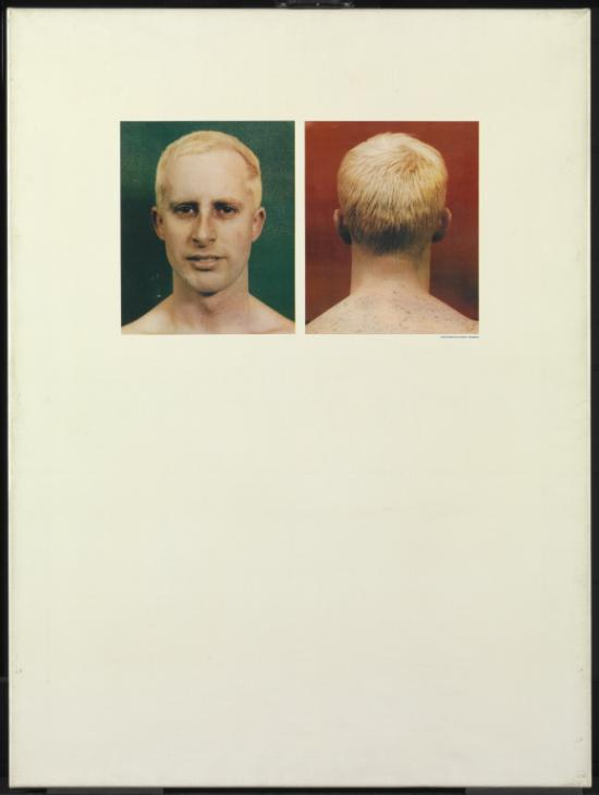 Self Portraits (Apple Sees Red on Green) 1962