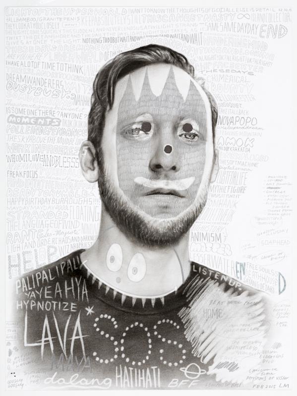 Laith McGregor,  Wilson , 2015, pencil on paper, 460 x 360 mm