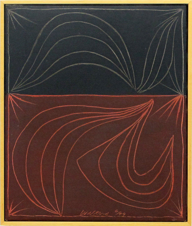 Gordon Walters,  Untitled , acrylic on board, 460 x 385 mm, courtesy of the Walters Estate