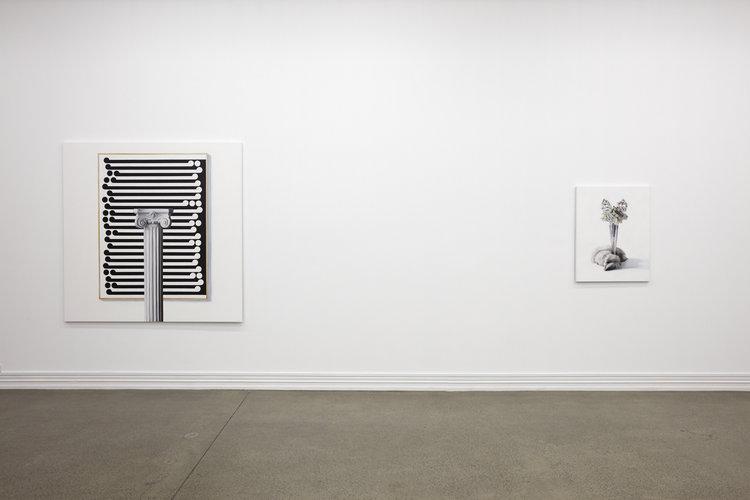 Michael Zavros, The Silver Fox, 2017, installation view
