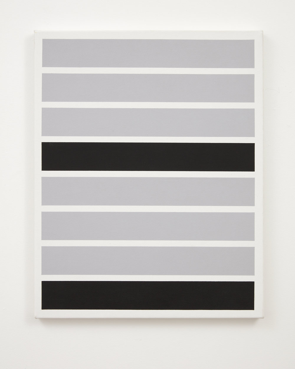 Gordon Walters,  Untitled , acrylic on canvas, 600 x 490 mm, courtesy of the Walters Estate
