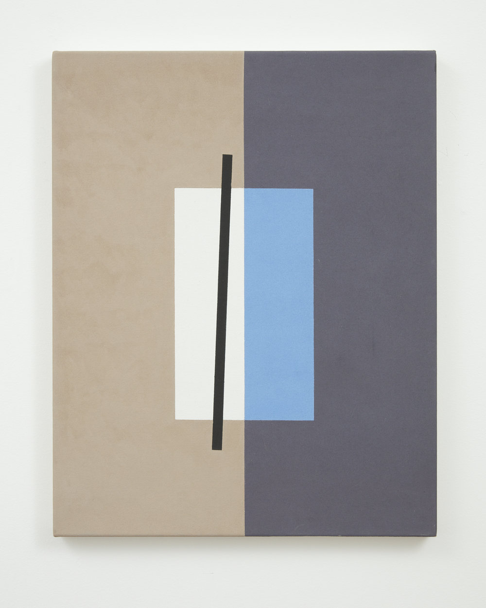 Gordon Walters,  Untitled , acrylic on canvas, 605 x 405 mm, courtesy of the Walters Estate