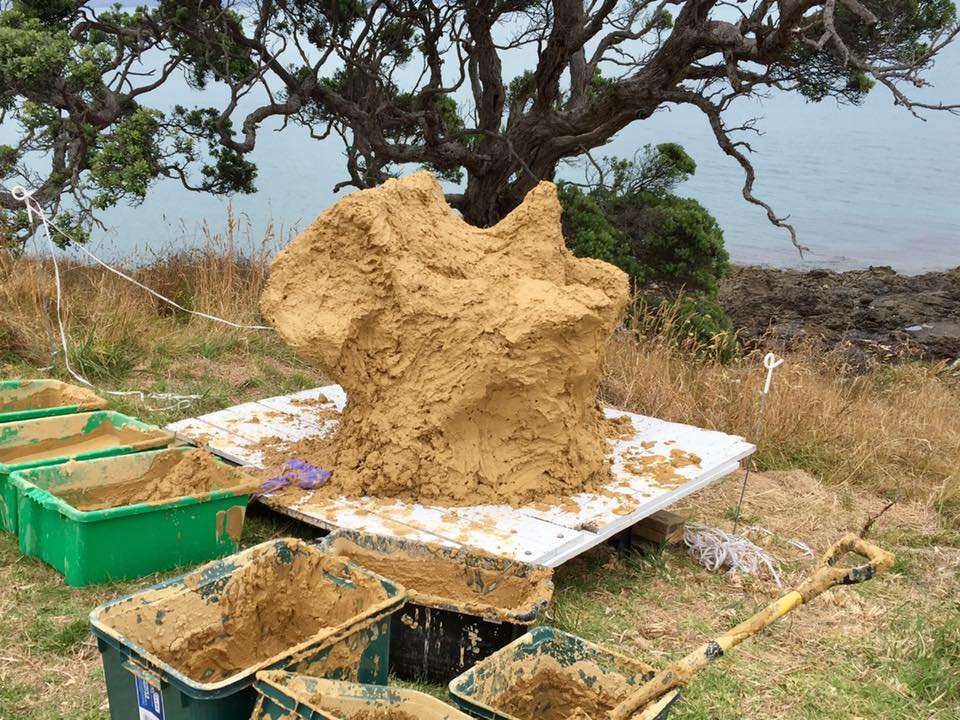 Forms & Other Things, 2017, Headlands Sculpture on the Gulf, Auckland.