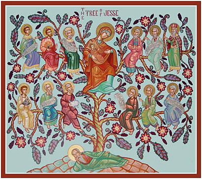 Nicholas Papas, The Tree of Jesse, St. Philip Antiochian Orthodox Church, Souderton, PA.