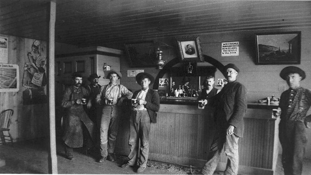 Gentlemen's Saloon, 1890's.