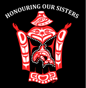 Honouring our Sisters emblem from  WWOS Comox Valley