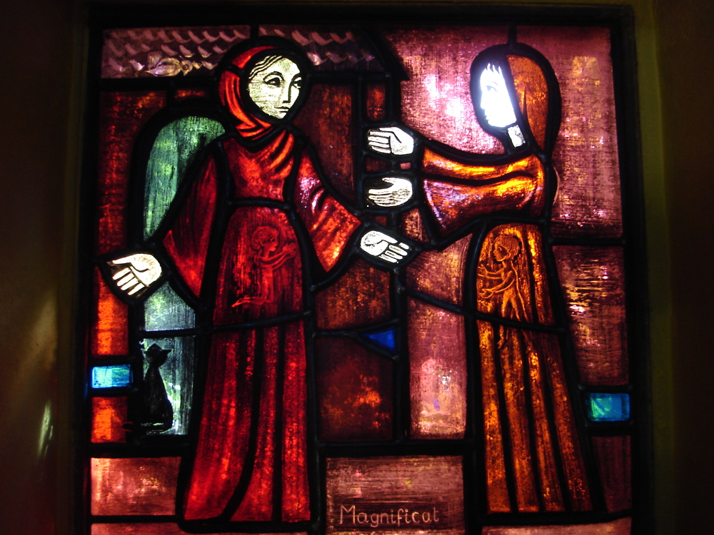 """The Visitation,"" by Brother Eric, Taize Community 1960."
