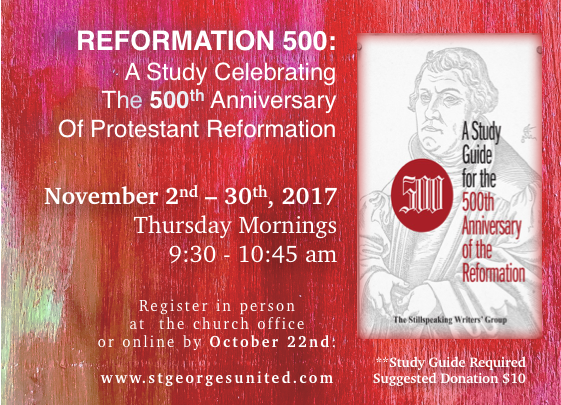 reformation 500 a study celebrating the 500th anniversary of the